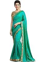 Shiroya Brothers Women's Silk Saree With Blouse Piece (Sb_Sari_7789_Multi-Coloured)