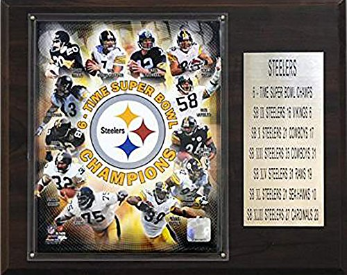 NFL Steelers 6 Time Super Bowl Champions ()