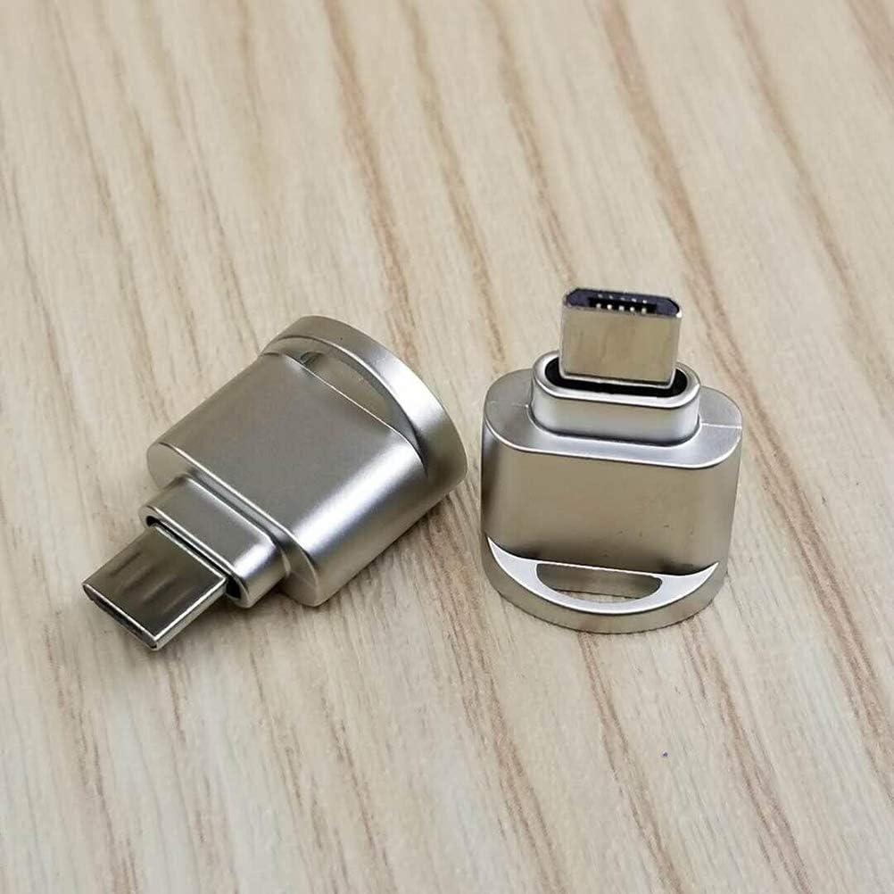 Black Hemobllo Memory Card Readers USB OTG Adapter Data Syncing