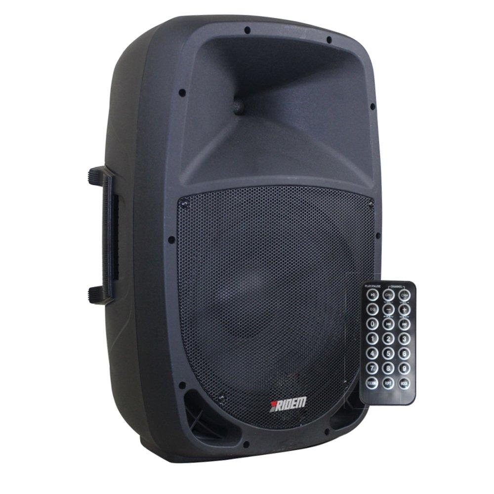 Karma Italiana RDM 8A Altavoz para Sistema de megafonía De 2 vías - Altavoces para Sistema de megafonía (De 2 vías, Piso, Negro, Acrilonitrilo butadieno estireno (ABS), LED, Botones, Giratorio)