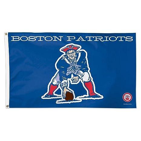 91d13c10 New England Patriots Flag 3x5 Vintage Throwback Logo Deluxe Grommets  Reinforced Flyend Boston Patriots AFL