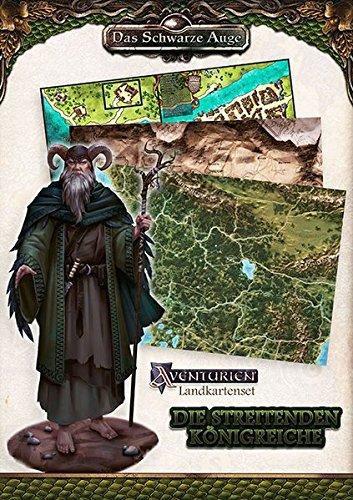 Landkartenset Die Streitenden Königreiche: Spielhilfe (Das Schwarze Auge – Regionalband)