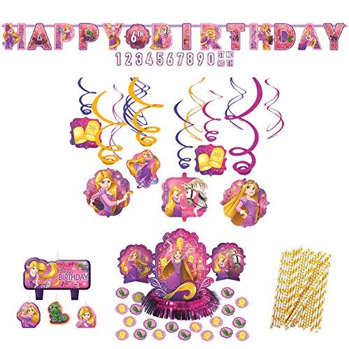 Disney Rapunzel Dream Big Party Decorations Party Supplies