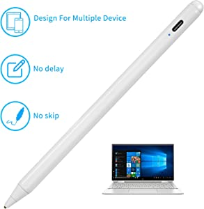 "Stylus Pens for HP Envy X360 Convertible 2-in-1 Laptop (15.6"") Pencil,Active Digital Touch-Control and Type-C Rechargeable Pen for HP Envy X360 15.6"",High Precision Fine Tip,Good at Drawing,White"