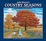 #3: John Sloane's Country Seasons 2019 Deluxe Wall Calendar