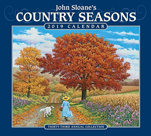 John Sloane's Country Seasons 2019 Deluxe Wall -
