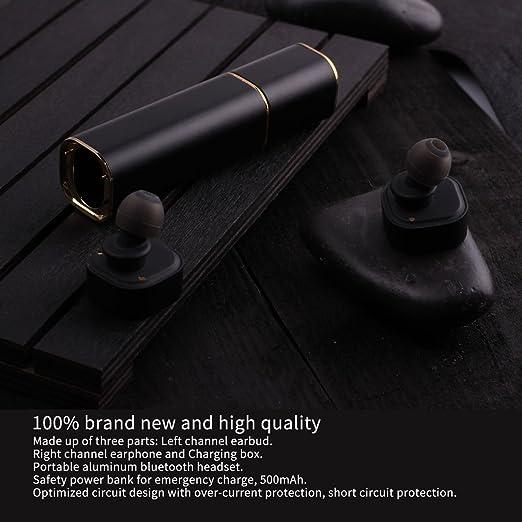 Amazon.com: Binaural Charge Bluetooth Headset, LESHP Wireless ...