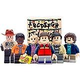 KikaToys - Kids Action Toys 6 Minifigures from Stranger Show | Playset Blocks Toys Figures for Kids