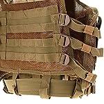 Lixada Armée Tactique Vest extérieure CS Champ Swat air de Jeu de Guerre Cosplay de Counter Strike Jeu Chasse Camping… 9