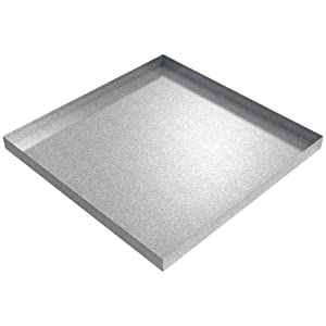 "36"" x 36"" x 2.5"" Galvanized Steel Drip pan"