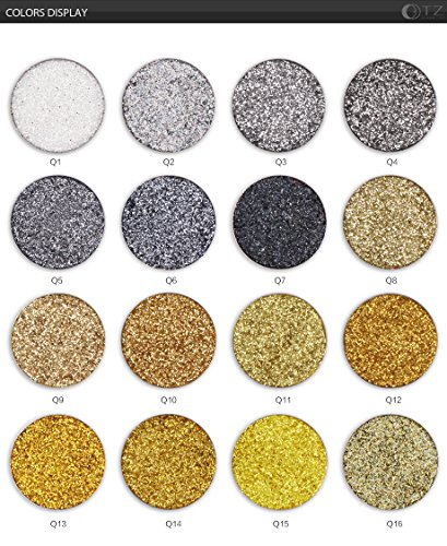 casa shop Glitters EyeShadow Glitterinjections EyeShadows Cosmetic Make up Pressed Glitters Diamond