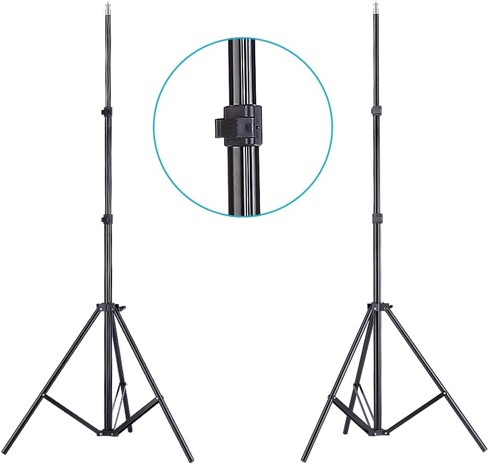 83-inch Light Stand 33-inch Mini Tripod Includes: Umbrella 15W LED Bulb Neewer 5500K Photo Studio Continuous Lighting Umbrellas Kit for Portrait Photography Gel Filters Studio and Video Shooting