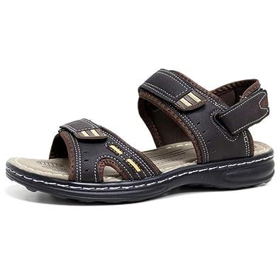 77667e7b8 Mens Sandals Hiking Walking Summer Beach Mules Velcro Sports Trekking Sandals  Mules Shoes Size 6 -