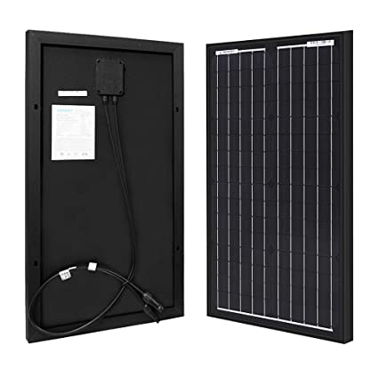 Renogy 30W 12V Monocrystalline Solar Panel High Efficiency Module Off Grid  PV Power for Battery Charging, Boat, Caravan, RV and Any Other Off Grid