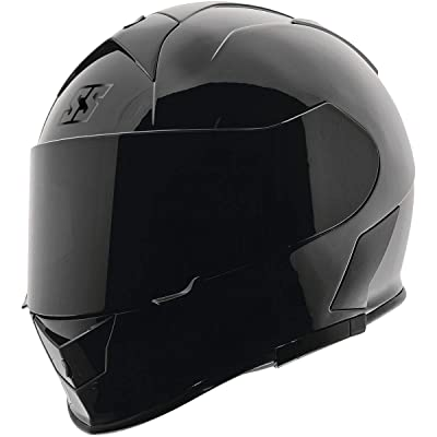 Speed & Strength SS900 Helmet - Solid Speed (X-Small) (Gloss Black): Automotive