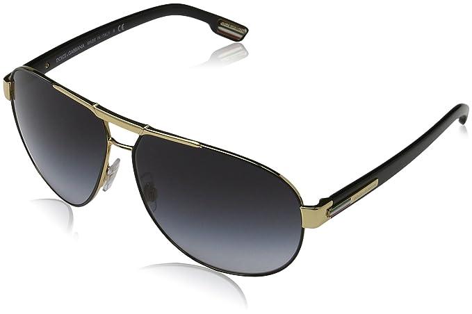 21def293a6b1 D G Dolce   Gabbana Aviator Sunglasses (DG 2099)  Amazon.in ...