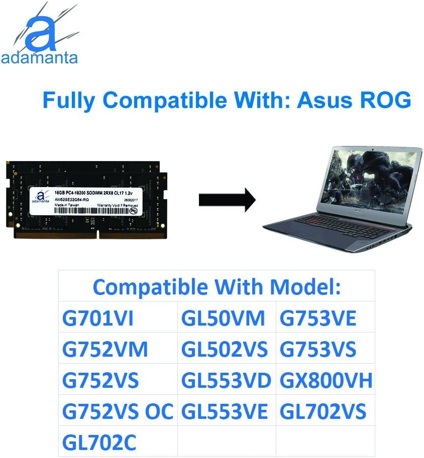 Adamanta 32GB Laptop Memory Upgrade Compatible for Acer Aspire V ...