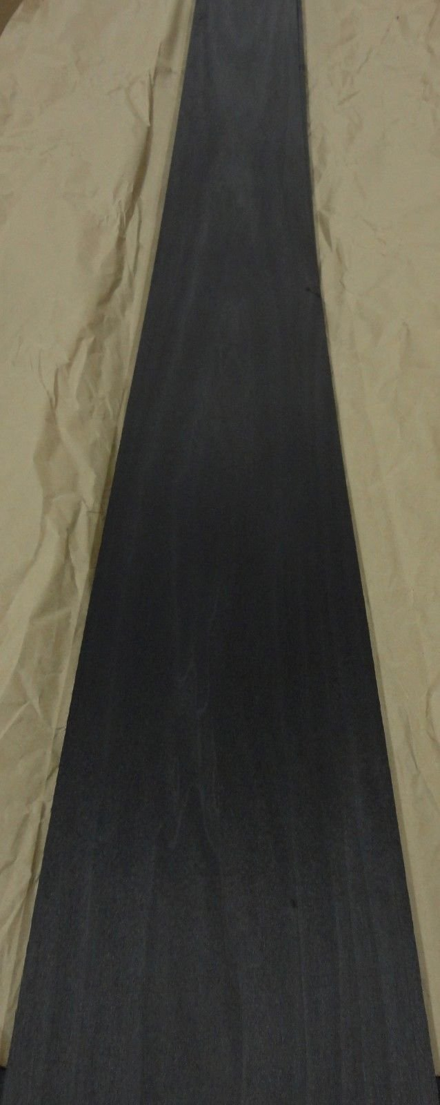 1/24'' Dyed Black Poplar wood veneer 7'' x 124'' raw no backing 1/24'' thickness