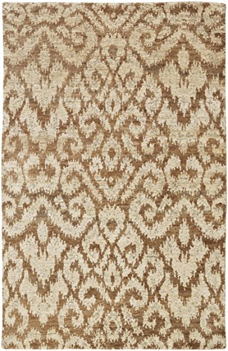 - Capel Rugs Williamsburg Tucker Hand Knotted Rug - Gold - 9'  x 12' - Rectangle