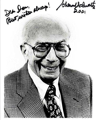 Sherwood Schwartz (d. 2011) Signed Autographed
