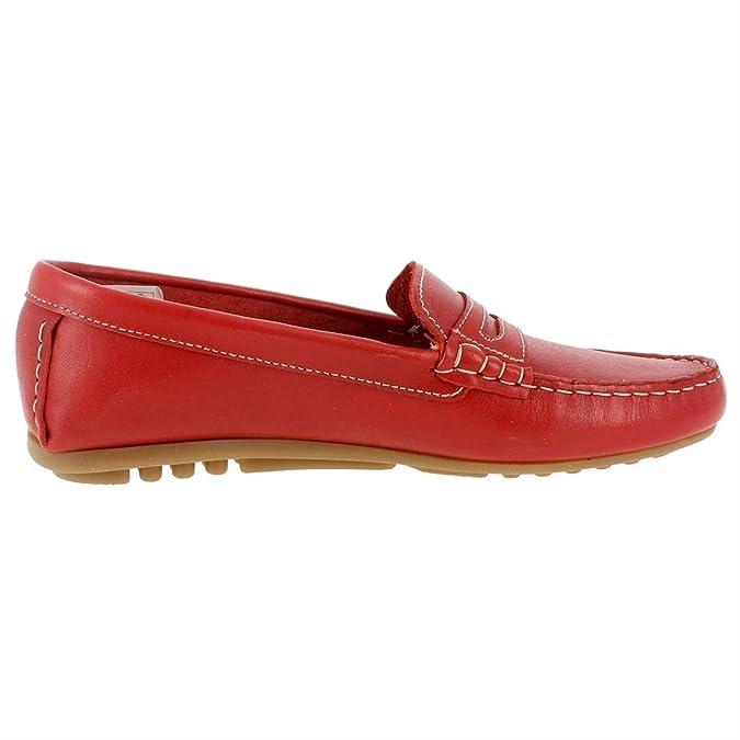 Himalaya - Mocasines para Mujer, Rojo (Rojo), 39: Amazon.es: Zapatos y complementos