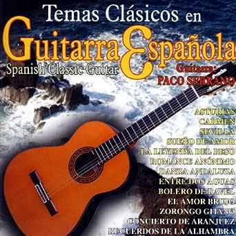 Temas Clásicos en Guitarra Española (Spanish Classic Guitar) de ...