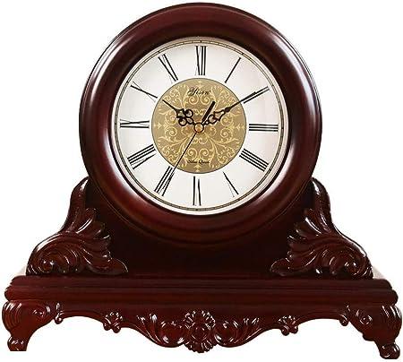 Reloj De Mesa Retro Reloj de Mesa Escritorio de Madera con el ...