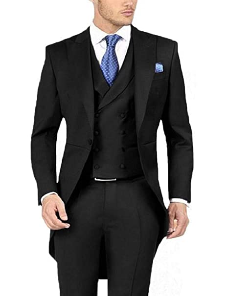 Amazon.com: Everbeauty traje formal de boda para hombre ...