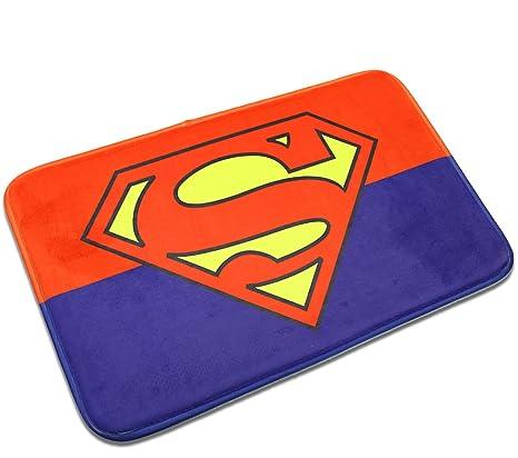 Amazon Com Superman Mats Cover Non Slip Machine Washable Outdoor