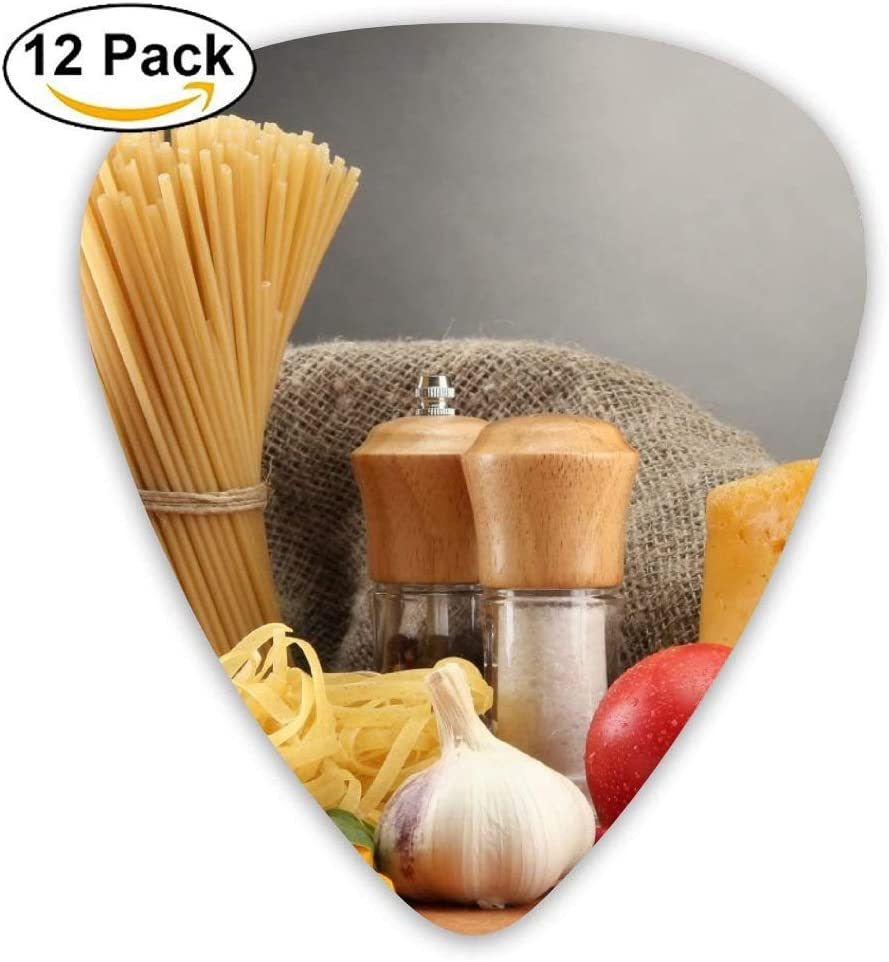 Cooking Pasta Seasoning Material Guitar Pick 12pack: Amazon.es ...