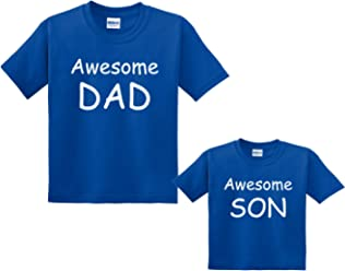 79ae3a3aba Footsteps Clothing Awesome DAD Or Son Matching Father Son T-Shirts - All  Sizes