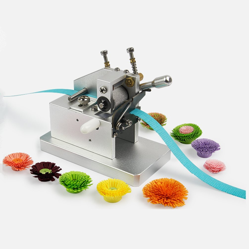 YURROAD Quilling Tool Flower Fringer Machine Paper Strips Tassel Cutting Tool