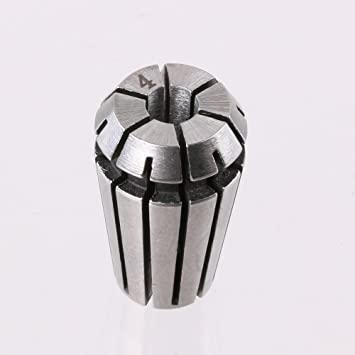 High Accuracy ER16 4mm Spring Steel Collet Chuck Drill Engraving Holder
