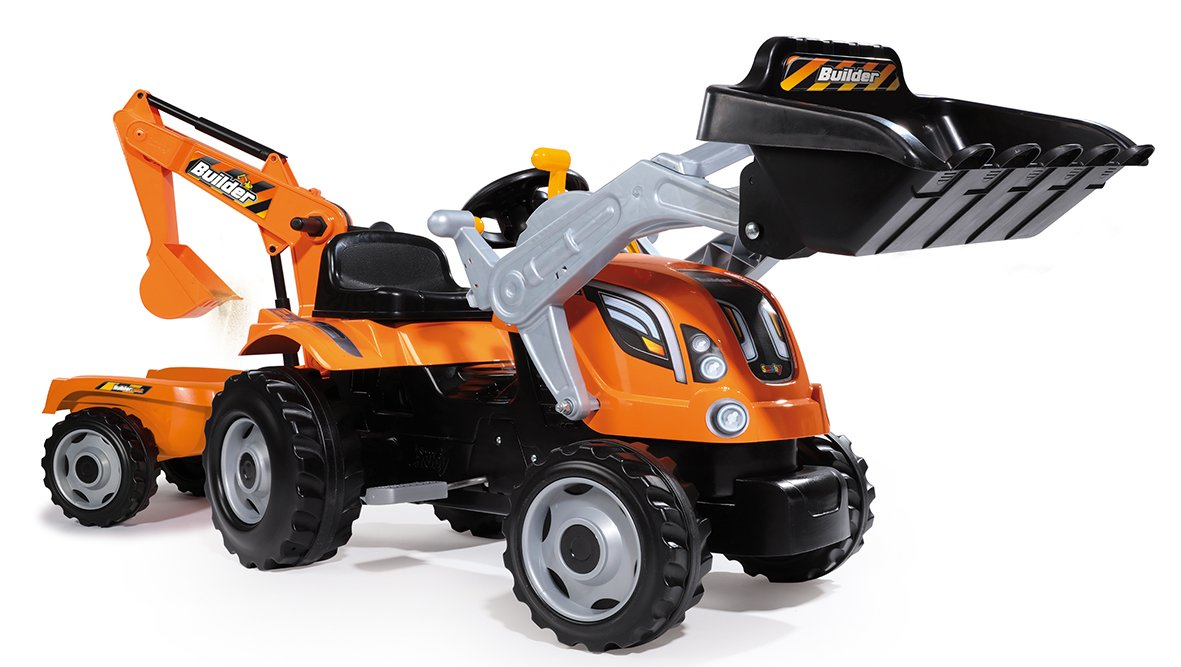 Smoby Tractor builder max builder