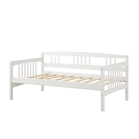Amazon.com: Sofá cama Dorel Living Kayden de madera ...