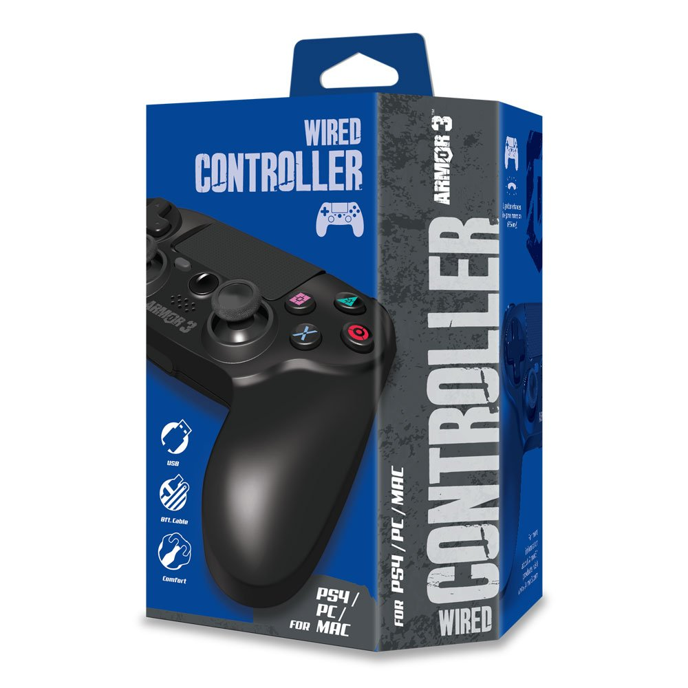 Armor3 Wired Game Controller for PS4/ PC/ Mac: Amazon ca: Computer