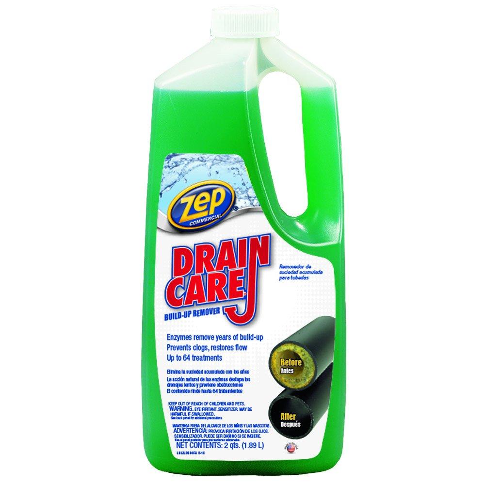ZEP COMMERCIAL PRODUCTS ZLDC648 Zep Drain Care Liquid, 64 Oz