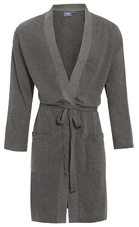 Mens Kimono Light 100% Cotton Jersey Dressing Gown Robe Spring ...
