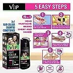 VIP Hair Color Shampoo, 180ml