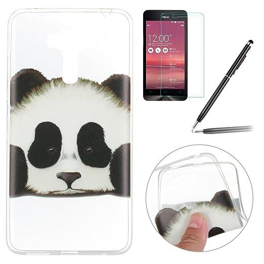 2 opinioni per Asus Zenfone 3 Laser Custodia,Asus Zenfone 3 Laser Cover,Felfy Belle Panda