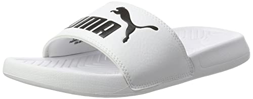 89ab501cb Puma Popcat, Zapatos de Playa y Piscina Unisex Adulto, Blanco White Black  12,