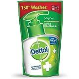 Dettol Liquid Handwash Refill Pouch, Original - 185 ml
