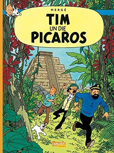 Tim & Struppi: Tim und Struppi Dialektausgabe: Tim un die Picaros Gebundenes Buch – 3. September 2013 Hergé Jürgen Leber Carlsen 3551785791