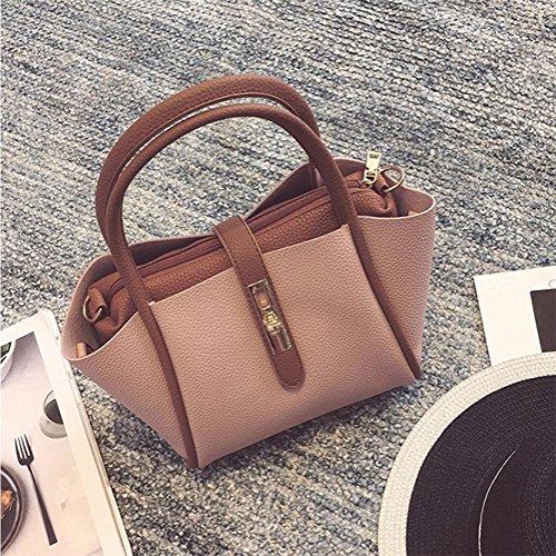Portable capacity Bag Bxbao Shoulder Bags High Retro Handbags Ladies 4wTqFYw