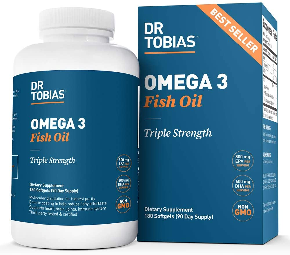 Dr. Tobias Triple Strength Supplement review