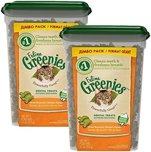 FELINE GREENIES Dental Treats Chicken