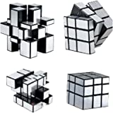 R & S Toys 3x3x3 Speed Silver Mirror Magic Cube ~ Fast & Smooth ~ No Stuck ~ Stickerless ~ Highly Recommended