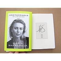 $59 » Maria Sharapova Wimbledon Grand Slam Champion signed book Unstoppable: My Life So Far