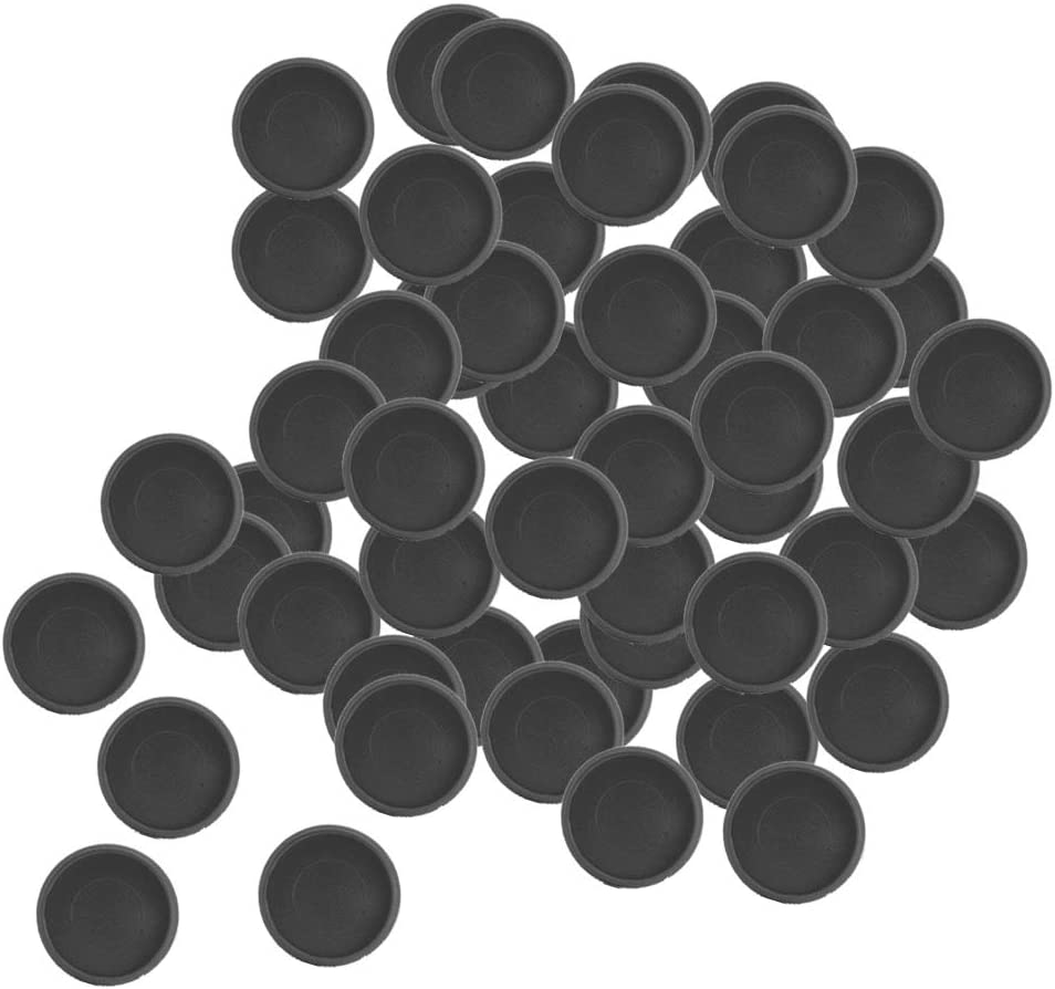 18mm Amagogo Bindescheiben Buckle Hoop Mushroom Hole B/ürozubeh/ör f/ür 50 100 Blatt 50 Stk