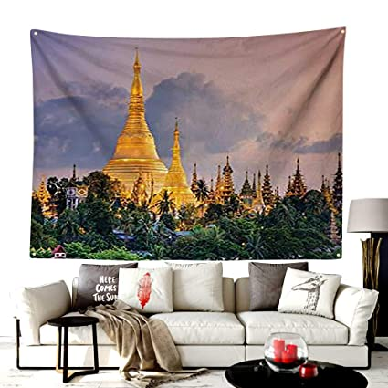 Amazoncom Unoseks Home Custom Pattern Quilted Tapestry